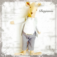 Mouse - Benjamin the footman - postage included