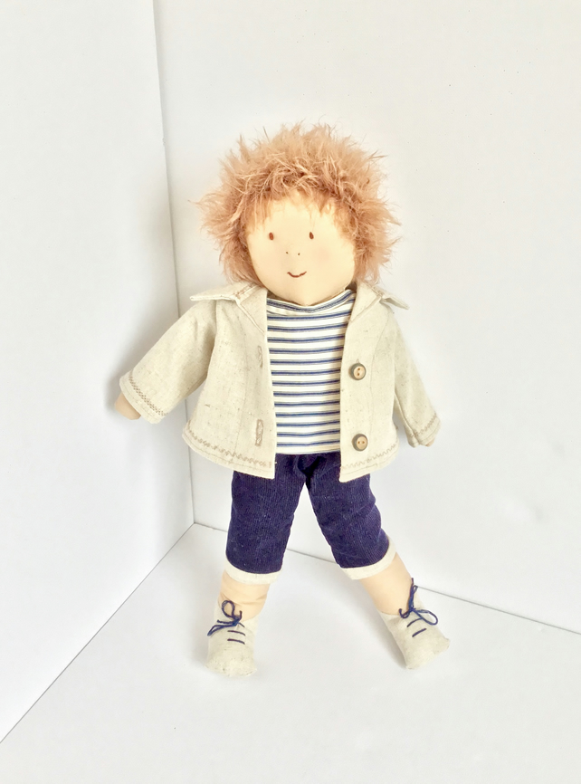 Handmade rag doll - Joe