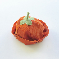 Pumpkin hat to fit a Maisy Muffin rag doll