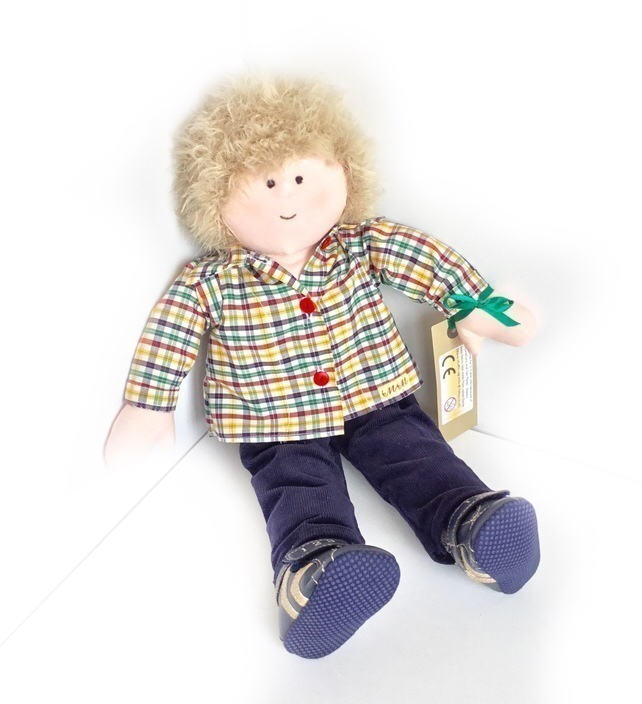 Final reduction - Alfie - 50cm boy doll