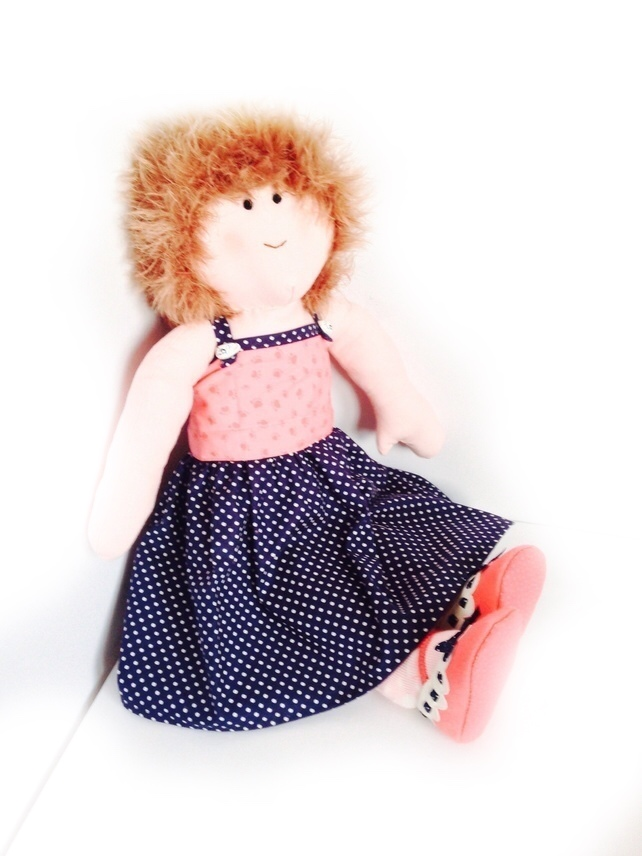 Reserved for Margaret - Ella - 54cm rag doll