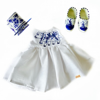 Delft cow dress