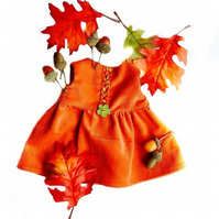 Embroidered Autumn Dress
