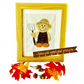 Sam Scarecrow appliqué picture