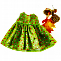 Little red apple dress to fit Maisy