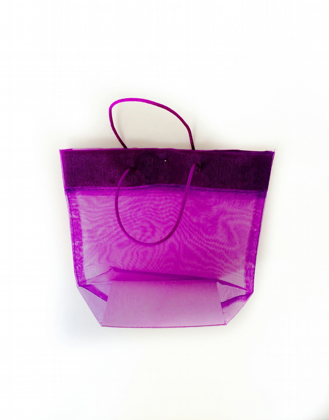 Reserved for Ursula - Small organza gift bags (Only silver now available)