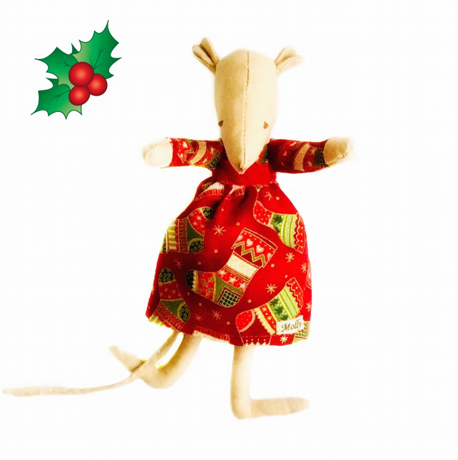 Christmas Mouse - Molly