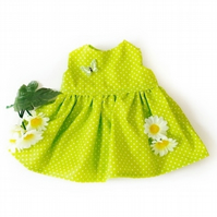 Reduced - Green Spot dress
