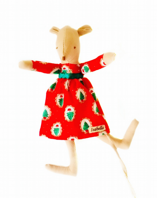 Final Reduction - Christmas Mouse - Isabella