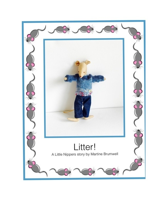 Reduced - Litter storybook