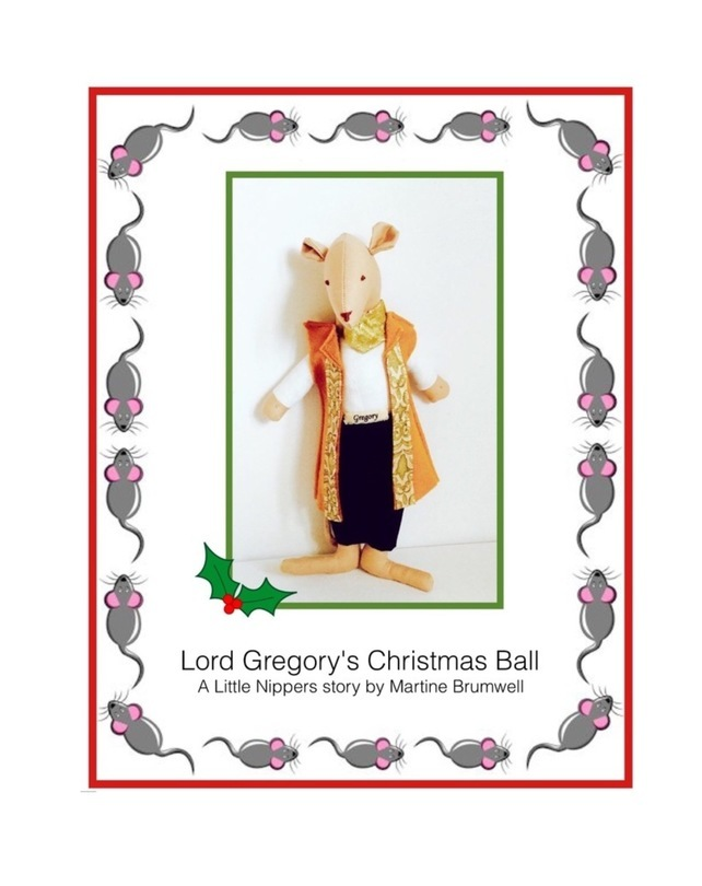 Reduced - Lord Gregory's Christmas Ball storybook