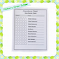 Attendance Register Sheets for Mulberry Green School