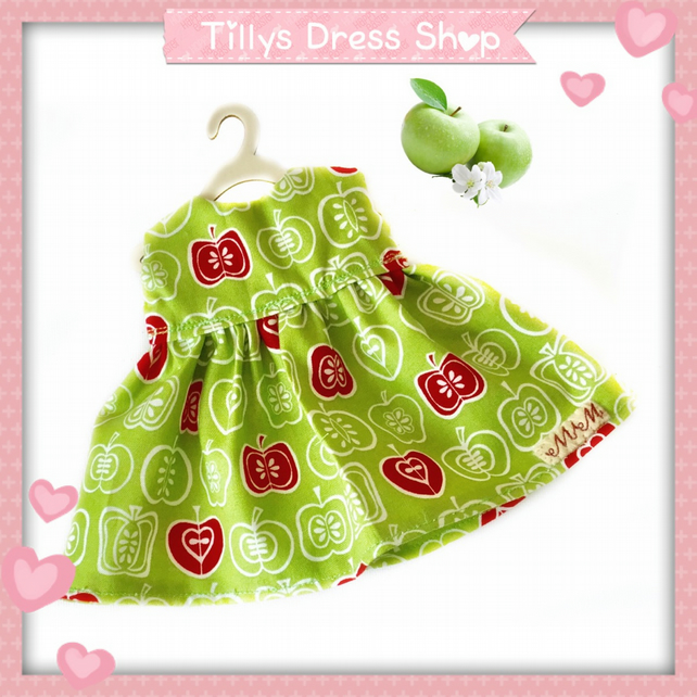 Green Apple Dress - reserved for Sue