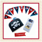 Reduced - Small Pirate suitcase, Pirate Bunting and 4 Pirate Story  Books