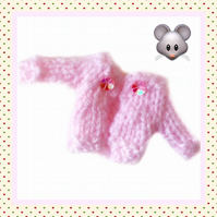 Pink Mouse cardigan