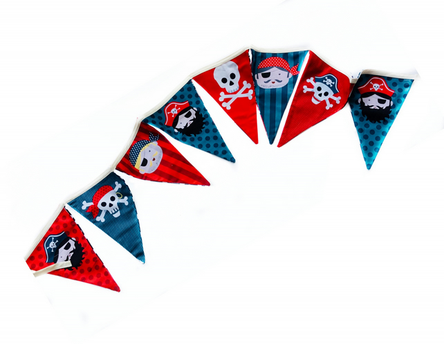 Reduced - Pirate Bunting