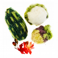 Set of Knitted Vegetables