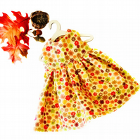 Reserved for Dawn - Autumn Flowers Dress