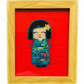 Embroidered Japanese Kokeshi Doll picture - Tamiko