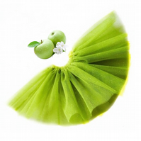 Sparkly Apple Green Tutu