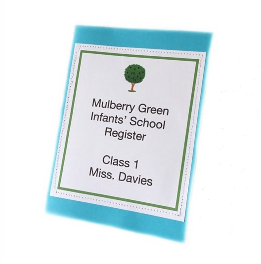 Attendance Register for Mulberry Green School