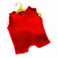 Red Leotard - reserved for Sue