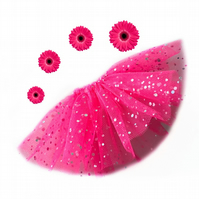 Cerise Sequinned Tutu