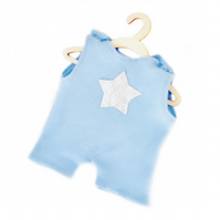 Pale Blue Star Leotard