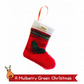 Mulberry Green Christmas Stocking