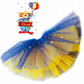 Blue and Gold Carnival Tutu