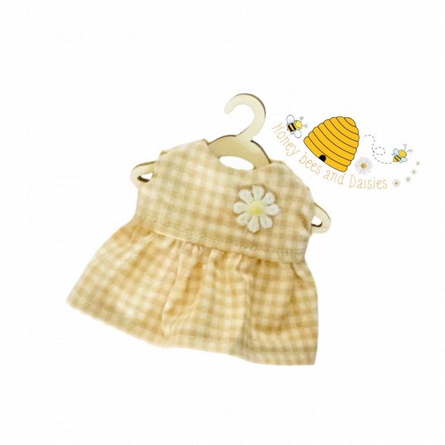 Baby Daisy Gingham Dress