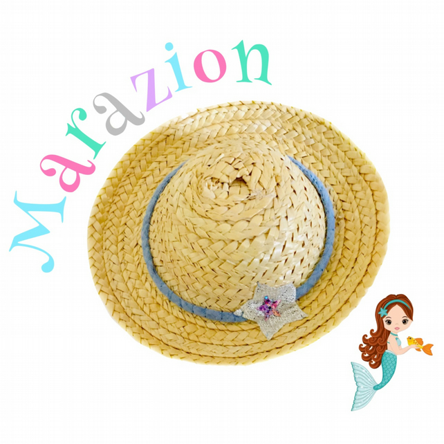 Reserved for Kat - Marazion Straw Hat