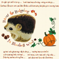 Hazel the Hedgehog from Bluebell Wood