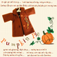Nut Brown Embroidered Felt Coat