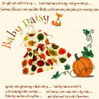 Baby Daisy Falling Leaves Dress