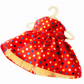 Circus Spots Dress - reserved for Sue