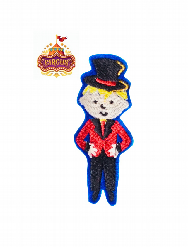 Ringmaster Embroidered Patch