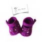 Embroidered Magenta Shoes - reserved for Pauline