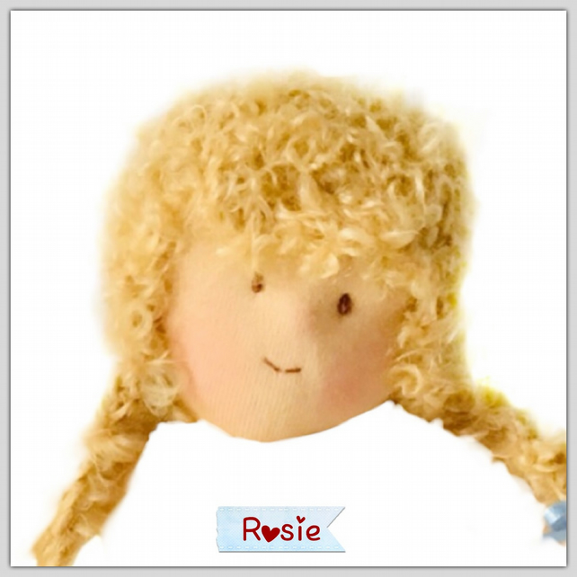 Rosie - a handcrafted doll