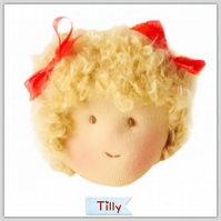 Tilly - a handcrafted doll