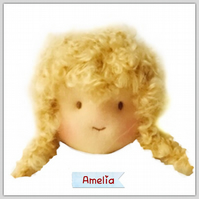 Amelia - a handcrafted doll