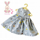 Grey Rabbit Dress
