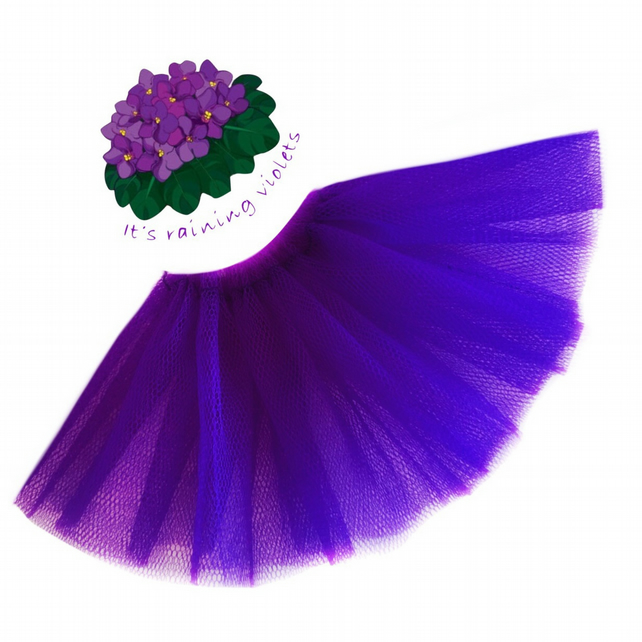 Reserved for Pat - Violet Ballet Tutu