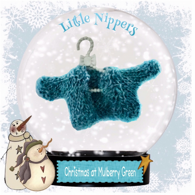 Little Nippers' Teal Cardigan