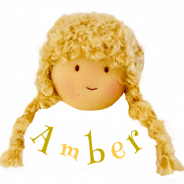 Amber Ambrose - a handcrafted Mulberry Green doll