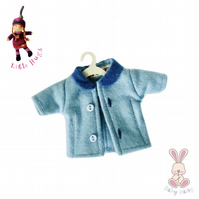 Blue Coat to fit the Little Hugs dolls and Baby Daisy