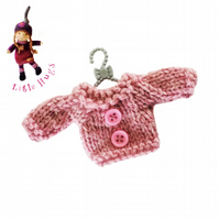 Pretty Pink Jumper to fit the Little Hug Dolls