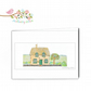 Church Cottage Blank Greetings Card