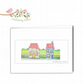 The Church Hall and Ballet Shop Blank Greetings Card
