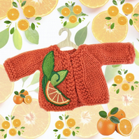 Zesty Oranges Cardigan